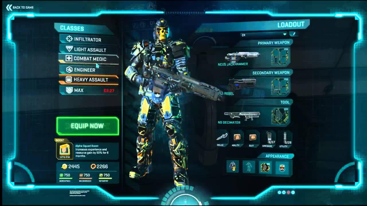Planetside 2 Praetorian Guard