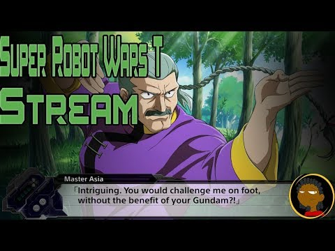 Super Robot Wars T Stream!