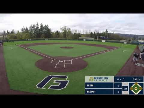 4/8/18  #20 Alex Gregory and Pacific Lutheran 7 at George Fox 6 - PLU Clinches NWC Division Title
