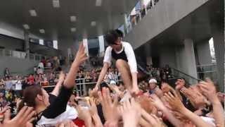 2012.4.29 ダイバーシティ東京(ガンダムの横) しず風&絆~KIZUNA~ ...