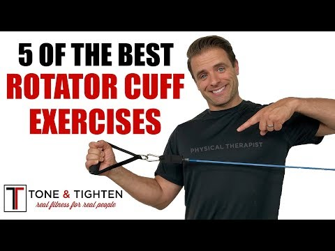 How To Strengthen Rotator Cuff - Physical Therapy Exercises For Shoulder Pain