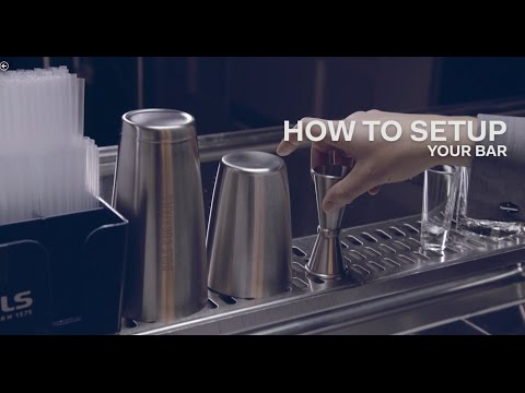 How To Set Up A Cocktail Bar - Bols Bartending Academy