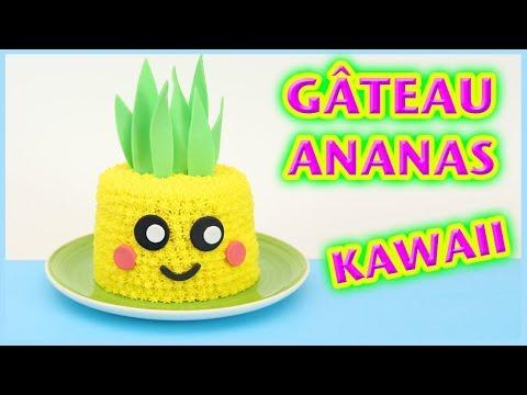 recette-kawaii---gÂteau-ananas