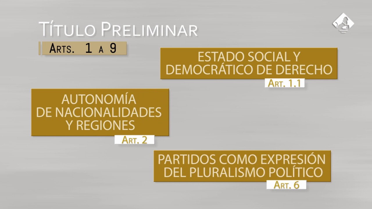La Estructura De La Constitución