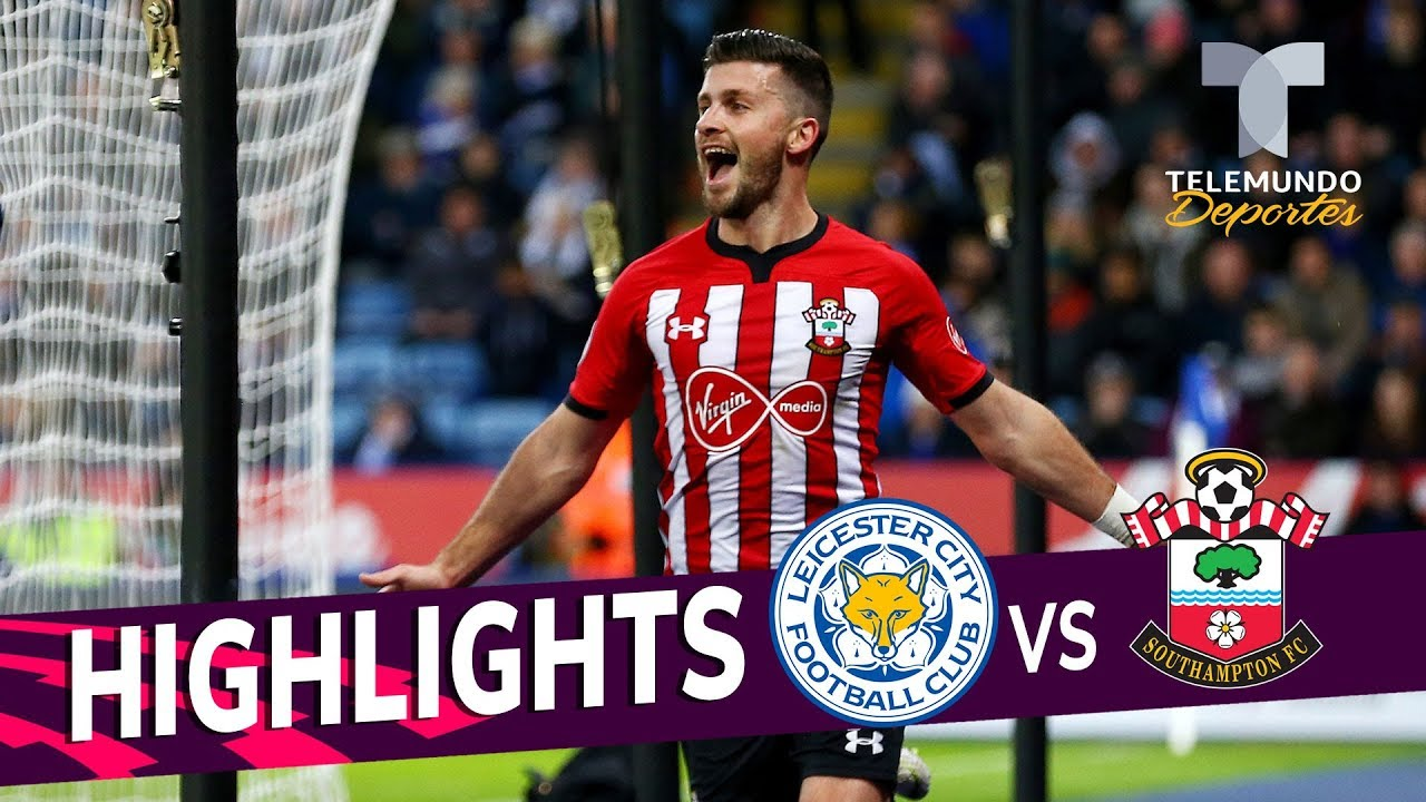 Leicester City Vs Southampton 1 2 Goals Highlights