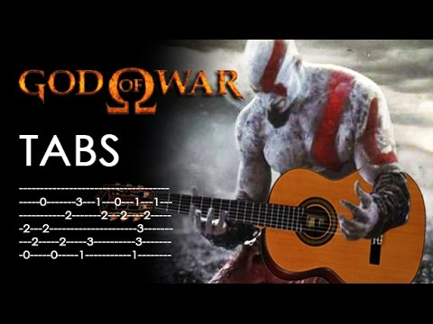 Guitar guitar cover with tabs : God of War theme classical guitar cover - fingerstyle w/TABS - YouTube