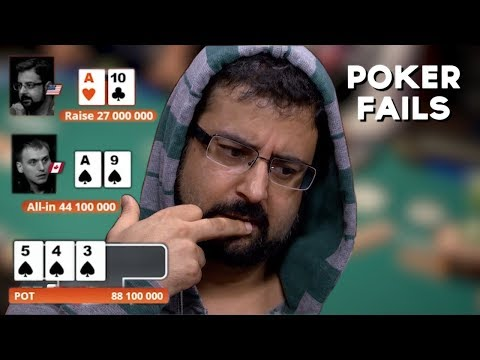 Poker FAILS: When Your Check Raise Goes WRONG!