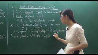 Học Tiếng Anh Cô Mai Phương - Đại Từ tiết 4.mp4