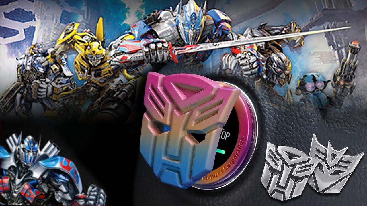 3D Transformers logo Emblems - sticker