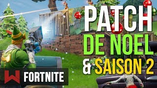 Patch de Noël & Saison 2 | Fortnite Battle Royale