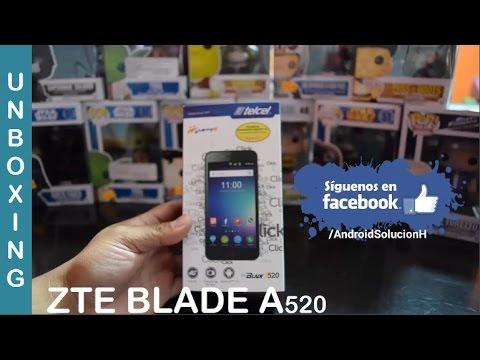 ZTE BLADE A520 Unboxing: Caracteristicas y Primeras Impresiones