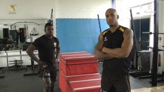 Speed & Agility With Tom Varndell & Christian Wade - Part One - The Gym