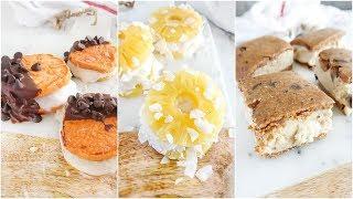 Healthy Ice Cream Sandwiches  vegan paleo desserts