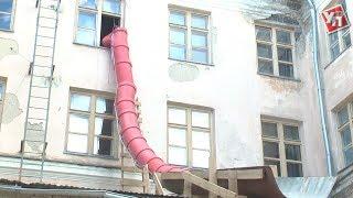 У 33 гімназії приступили до капітального ремонту