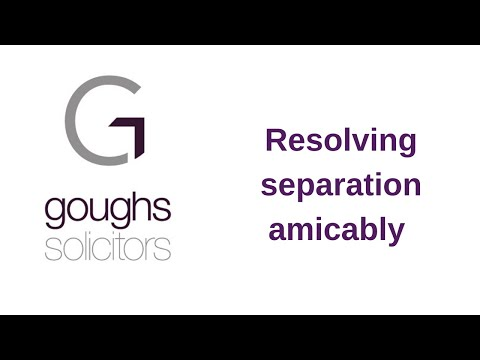 Family Lawyers Offer Advice on Solving Separation Amicably
