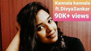 Kannala kannala | Thani oruvan | Hiphop Thamizha |  Jeyam Ravi | Nayanthara | cover by Divya Sankar