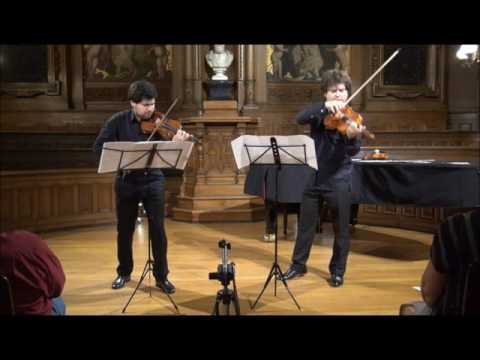 W.A.Mozart- Duo for Violin and Viola, Ivan & Mikhail Pochekin