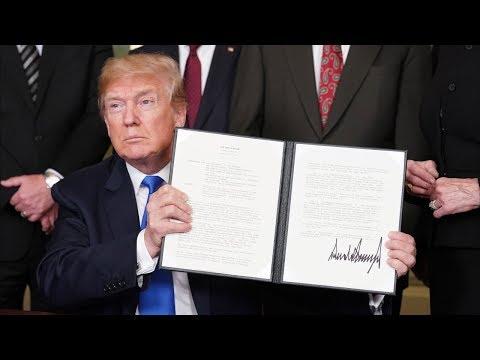 Дональд Трамп распорядился ввести пошлины на импорт китайских товаров