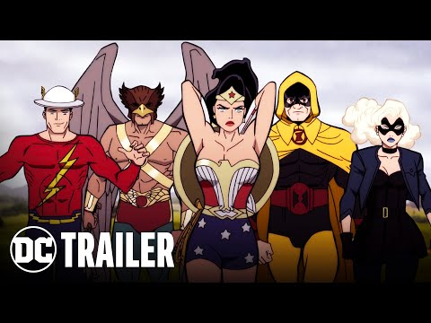 Justice Society: World War II | Official Trailer