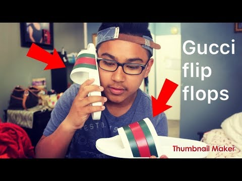 19a0527f42c Gucci Flip Flops All Hype Or Not + On Foot - Action.News ABC Action ...