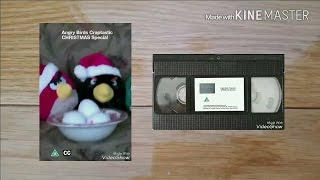 Opening to Angry Birds Craptastic: Christmas Special (2016) UK VHS