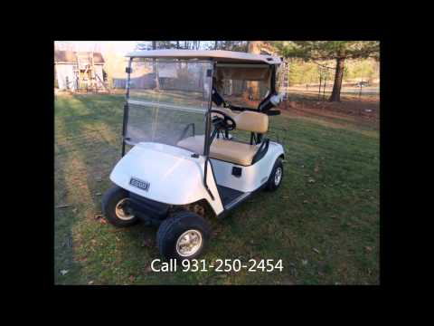 2011 EzGo Golf Cart For Sale 48v Electric Crossville, TN