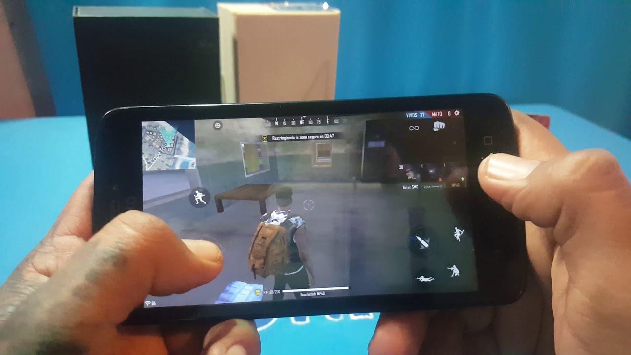 Free Fire En Motorola Moto C Lo Soporta Todo Youtube