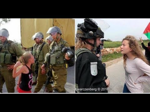 Ahed Tamimi Palestinian teenager to face secret trial for slapping Israeli soldier