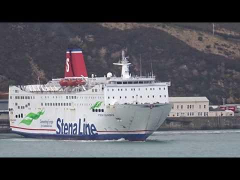 Stena Fishguard Wales to Rosslare Ireland Passenger Ferry 1 17.4.17