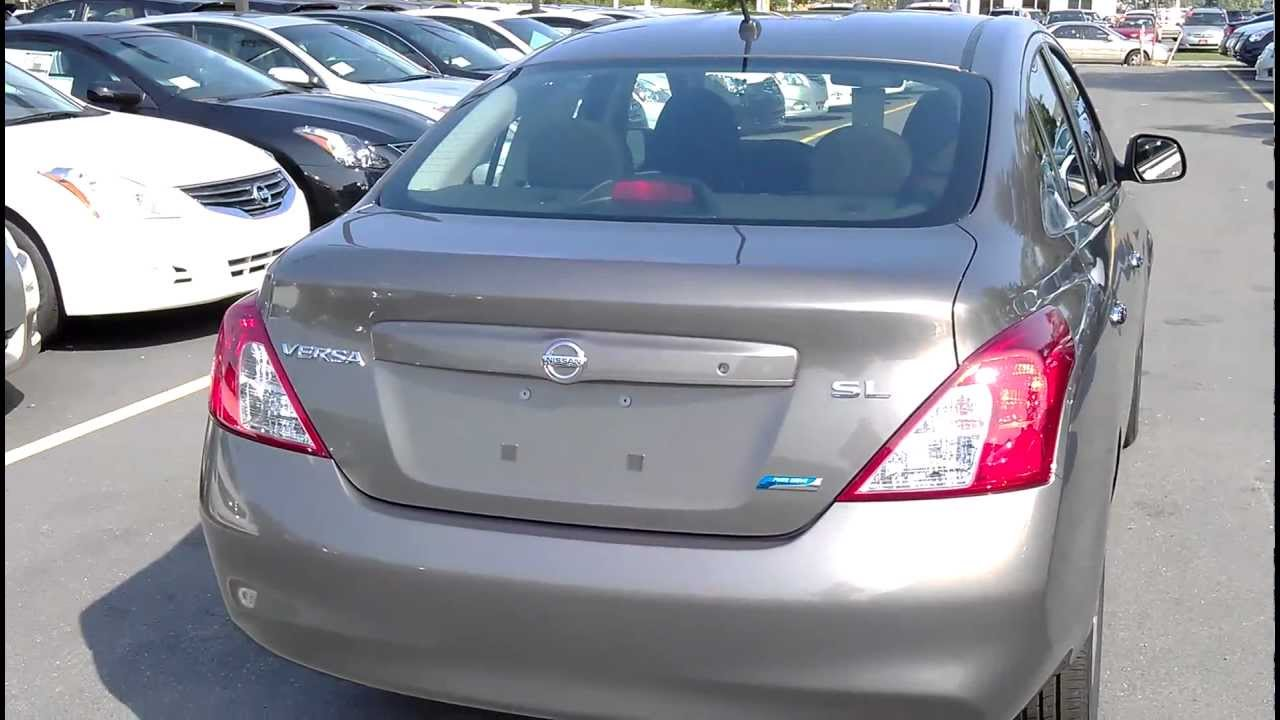 Awesome 2012 Nissan Versa SL Review Upto 45 MPG #1 Sub Compact Car