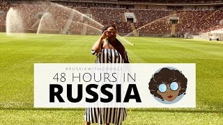 48 HOURS IN RUSSIA (WORLD CUP STADIUM & MORE) | Pap Culture On Location
