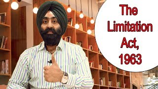 Limitation Act 1963 (Learn Full Act in 10 Minutes) Law Judiciary Exam