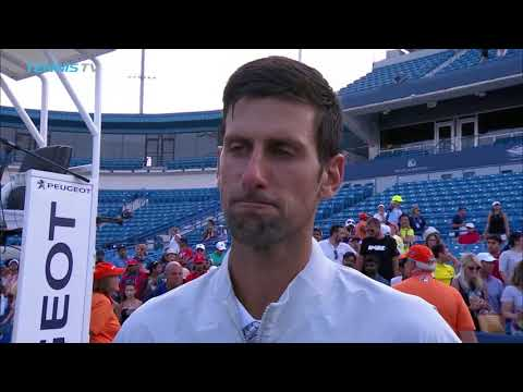"""I tried not to think about it"": Djokovic Reflects on Winning Golden Masters at Cincinnati"