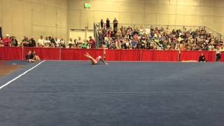 Jessica Wright Floor 2015 SoCal State Championships Level 6