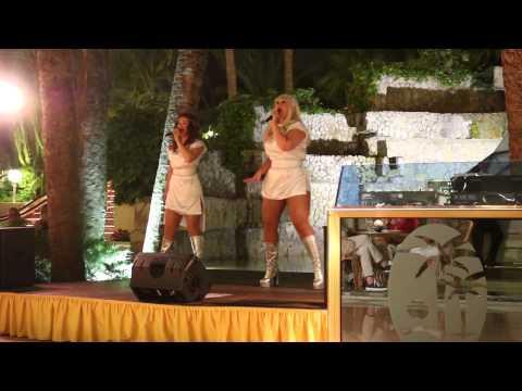 2015, Mallorca, Paguera, Palmira Beach, ABBA, Gimme gimme gimme