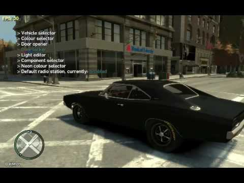 Grand Theft Auto Iv Dodge Charger 1969 American Muscle