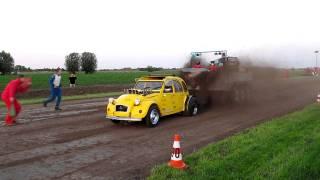 Carpulling Snelrewaard 2011 Poison Ducky 2de manche autotrek