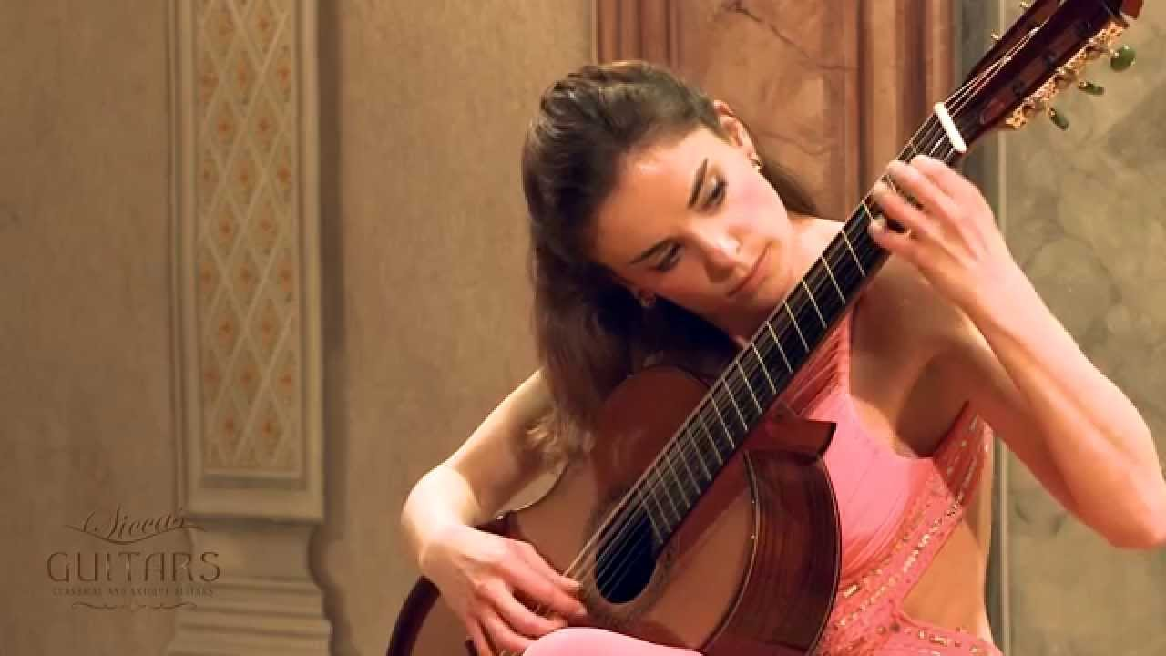 Ana Vidovic plays El Vito by José de Azpiazu クラシックギター