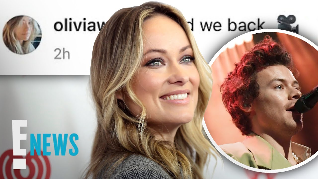 Olivia Wilde Changes Her IG Amid Harry Styles Romance   E! News