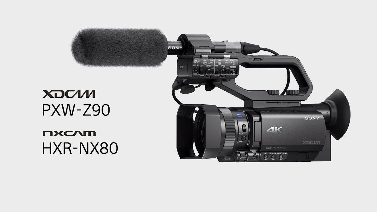 ผลการค้นหารูปภาพสำหรับ SONY PXW-Z90