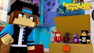 Minecraft Toys #39 - THE NICE KID TURNS ON TOY ROPO & JACK!!