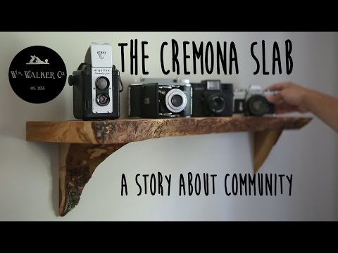The Cremona Slab - A Story About Community