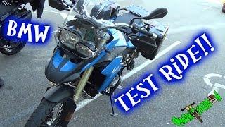 Test Riding a 2013 BMW F800GS