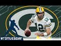 Every Aaron Rodgers 40 Yard TD The Hail Mary King TDTuesday NFL mp3