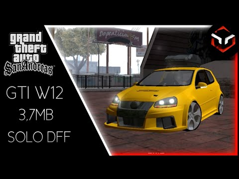 VW Golf Gti W12|[Dff Only]|Gta Sa Android