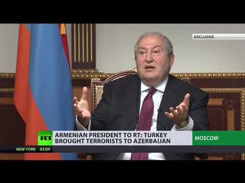 'Turkey is the one that brought Islamic militants and terrorists into Azerbaijan' – Sarkissian