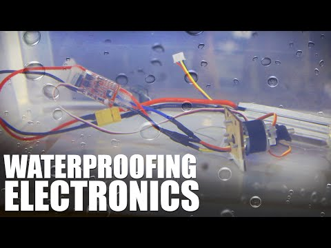 Flite Test | Waterproofing Electronics
