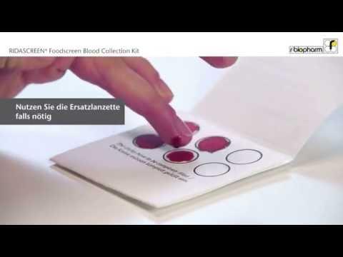 R-Biopharm Blood Collection Card (Deutsch Full-HD)