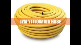 What is industrial yellow rubber air water hose?