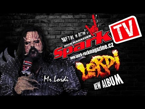SPARK TV: LORDI - new album 2016